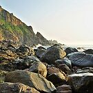 Rocky Coastline - Alderney by NeilAlderney