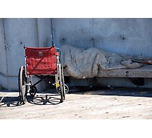 Homeless in Seattle > Photographic Print