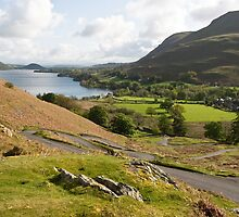 Ullswater Switchback by Paul Davey