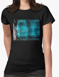glass half full Womens Fitted T-Shirt