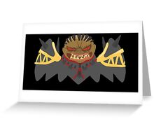 Mtg- Crovax Greeting Card