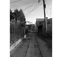 The back streets Photographic Print