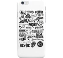 Band Logo Collage iPhone Case/Skin