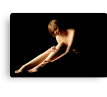 A simple nude Canvas Print