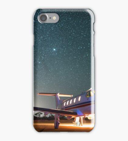 RFDS Evac Under a Starry Southern Sky - Tjuntjuntjara, Great Victoria Desert, WA - Take 1 iPhone Case/Skin