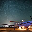 RFDS Evac Under a Starry Southern Sky - Tjuntjuntjara, Great Victoria Desert, WA - Take 1 by Liam Byrne