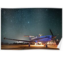 RFDS Evac Under a Starry Southern Sky - Tjuntjuntjara, Great Victoria Desert, WA - Take 1 Poster