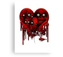 MELTING HEARTS Canvas Print