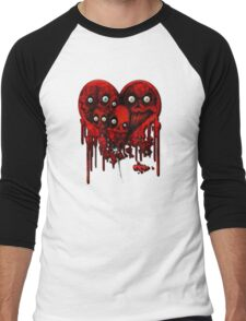 MELTING HEARTS Men's Baseball ¾ T-Shirt