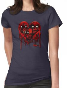 MELTING HEARTS Womens Fitted T-Shirt