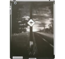 Night Driving, Where Are They? iPad Case/Skin
