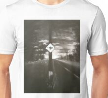Night Driving, Where Are They? Unisex T-Shirt