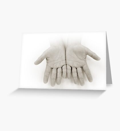 Hands: Openness Greeting Card