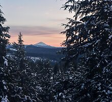 Mount McLoughlin, Jackson County, Oregon, USA by Mike Kunes