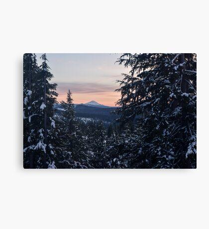 Mount McLoughlin, Crater Lake National Park, Oregon Canvas Print