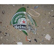 Heineken on the Beach Photographic Print