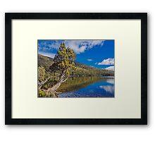 Lake Dobson Framed Print