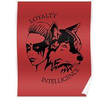 Lexa - The Wolf Poster