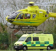 somerset air ambulance by brucemlong