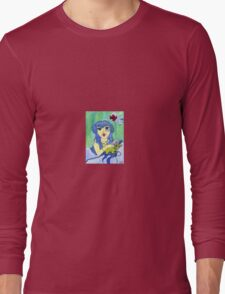 Aqua aurora Long Sleeve T-Shirt