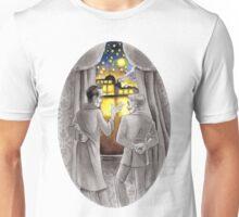 "Life is Infinitely Stranger"" - Holmes and Watson - 221B version #  Unisex T-Shirt"