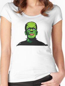 FRANKIE FEELS PRETTY Women's Fitted Scoop T-Shirt
