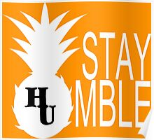 Stay Humble Funny Geek Nerd Poster