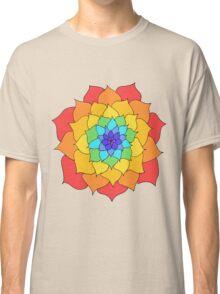 Rainbow Flower Classic T-Shirt