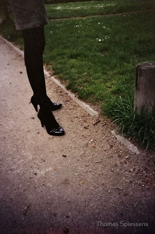 Lomo - Sidewalk by Thomas Spiessens