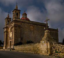 Holy Hill (Limits of Ghaxaq Malta) by Edwin  Catania