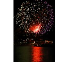 Recco - Fireworks Festival Photographic Print