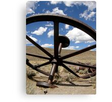 Retired From The Mine ~ Bodie The Ghost Town Canvas Print