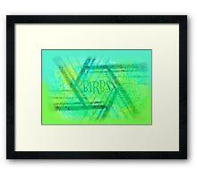 Birbs Framed Print