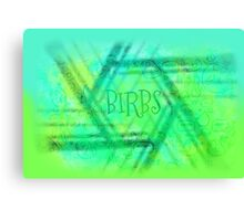 Birbs Canvas Print
