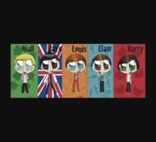 Chibi One Direction  Kids Clothes