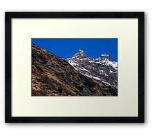 Alpine Colors Framed Print
