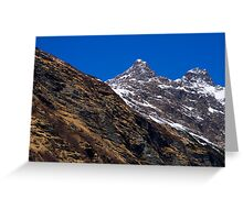 Alpine Colors Greeting Card