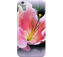 Lily Sunset iPhone Case/Skin