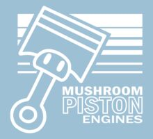 Mushroom Piston Engines Kids Clothes