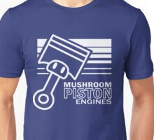 Mushroom Piston Engines Unisex T-Shirt