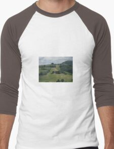 ROLLING HILLS OF TUSCANY Men's Baseball ¾ T-Shirt