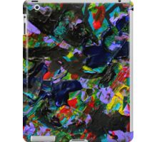 Colorful Pattern, Abstract Expressionist Art iPad Case/Skin