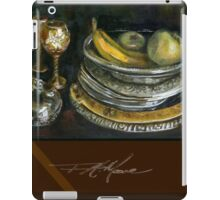 China Cabinet Still Life I. FA Moore Signature design, in Red Wine iPad Case/Skin