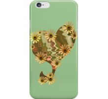Daisy Heart for Doona Covers or Duvets plus other homewares. iPhone Case/Skin
