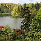 Stourhead Pano by RedHillDigital