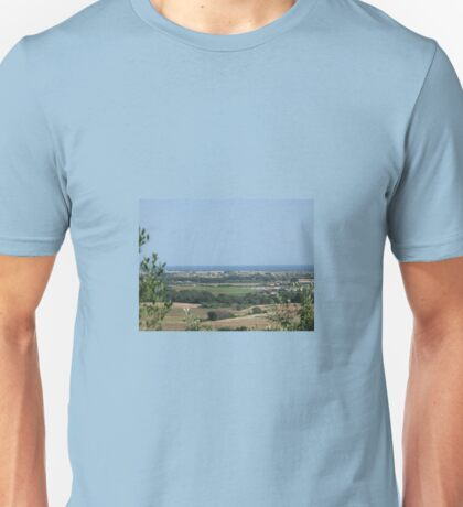 ACROSS THE LAND TO THE SEA Unisex T-Shirt