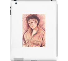 JANAIS IAN PORTRAIT IN INK iPad Case/Skin