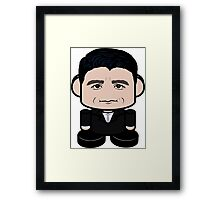 Paul Ryan Politico'bot Toy Robot 1.0 Framed Print