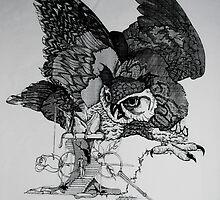 owl by vickie   l ferguson