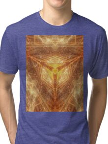Sacred Geometry 04 - Psychedelic Cube Tri-blend T-Shirt